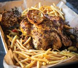 Chicken With 5Mm Fries