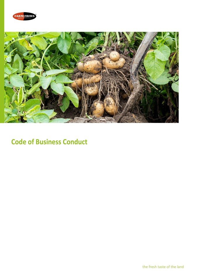 Code Of Business Conduct 1