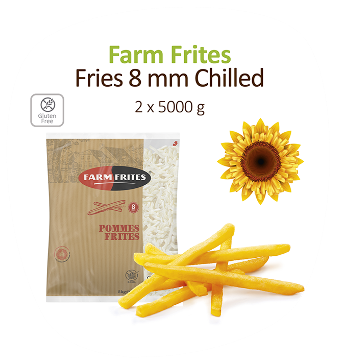 Fries 8Mm Chilled 2X5kg