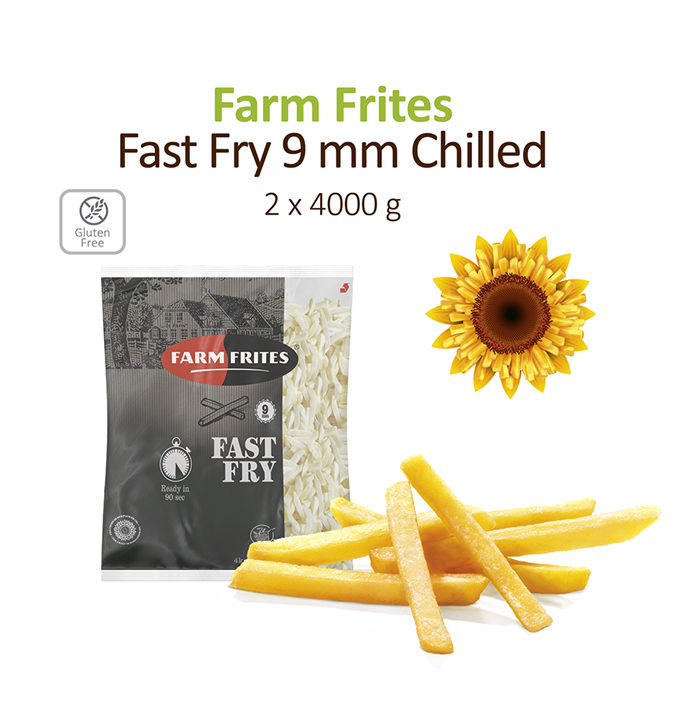 Fastfry 9Mm Chilled 2X4kg