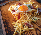 Egg With 5Mm Fries Of Fram Frites