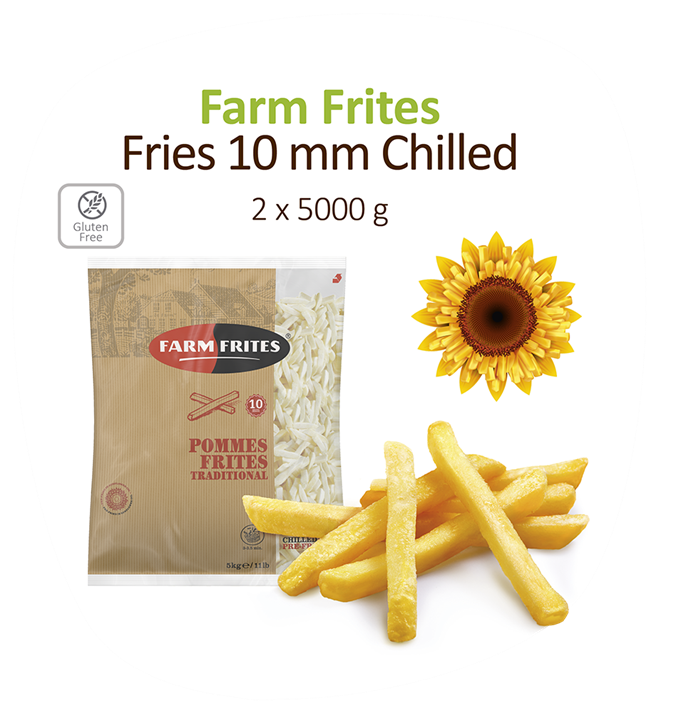 Fries 10Mm Chilled 2X5kg